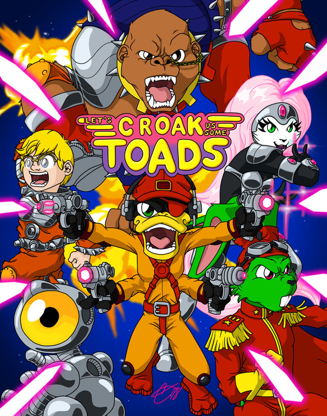 Let's Croak Us Some Toads