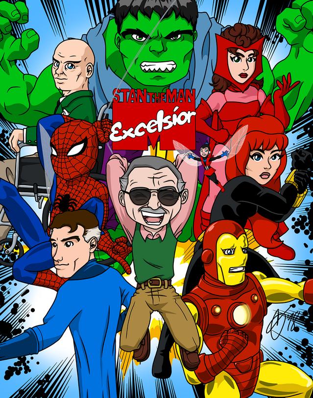 Excelsior (green Hulk)