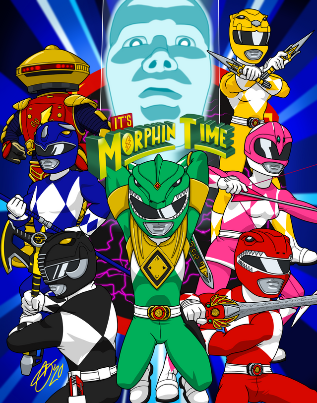 It's Morphin Time (Green)