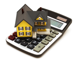 Calculating the real property valuation