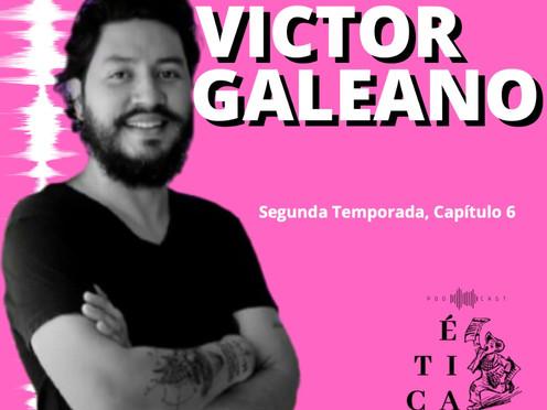 Victor Galeano, el artista que se dedicó al periodismo