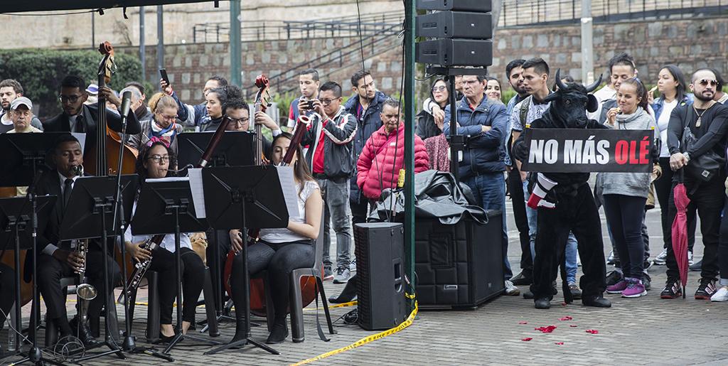 Concierto de la Orquesta Filarmónica de Bogotá. Foto tomada por Nicolás Andrés Ortiz.