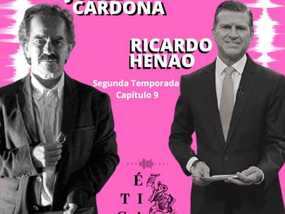 Jorge Cardona y Ricardo Henao, dos eminencias del periodismo en Ética para muckrakers