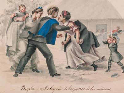 ¿Cómo se formaba la opinión pública en Santafé de Bogotá  en el siglo XVIII?
