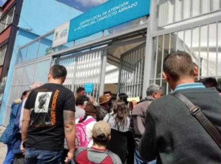 La doble cólera. Un día en el Centro Local de Atención a Víctimas de Chapinero