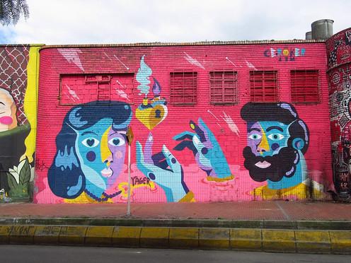 El grafiti bogotano: un arte que comunica y no discrimina