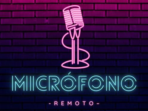 Micrófono remoto podcast
