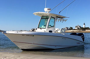 25' Boston Whaler 250 Outrage 2014