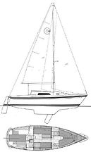 26' O'Day Sailboat 1986