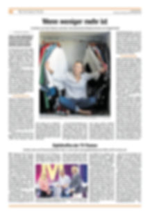 Luxembourger Wort, capsule wardrobe, less.lu, Kerstin Smerr, Chris Karaba, fast fashion, styling