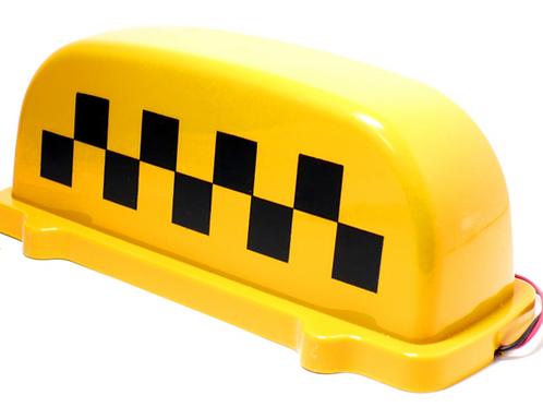 """Шашка - фонарь такси на магните с подсветкой """"Стандарт 1"""""""