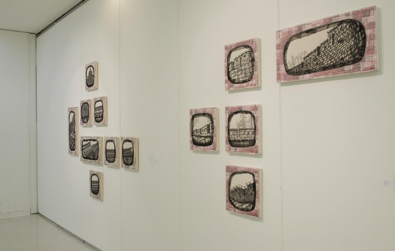 "The 5th Solo Exhibition ""겹"" 2014"