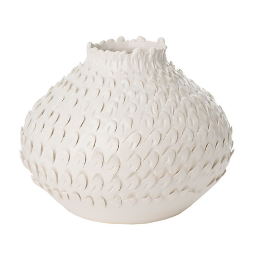 Feathered Vase, SMALL