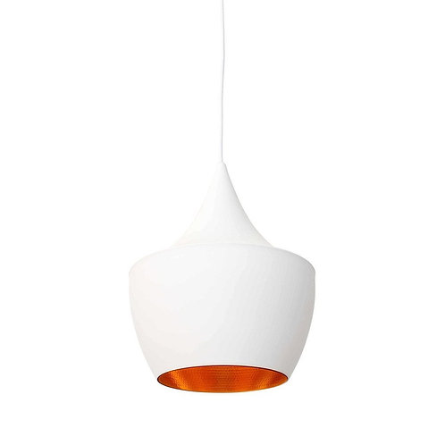 Jayda Fat Pendant Lamp - White