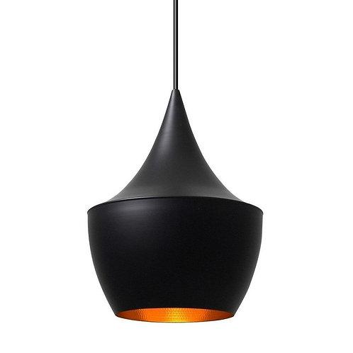 Jayda Fat Pendant Lamp - Black