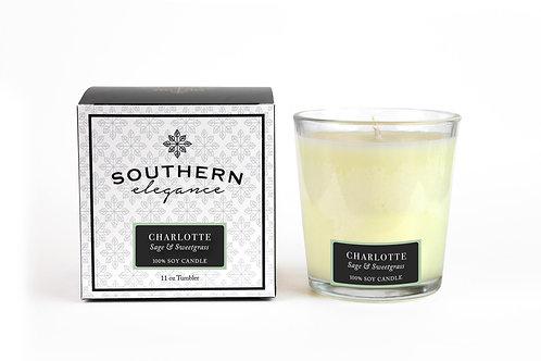 Charlotte: Sage & Sweetgrass (Tumbler)