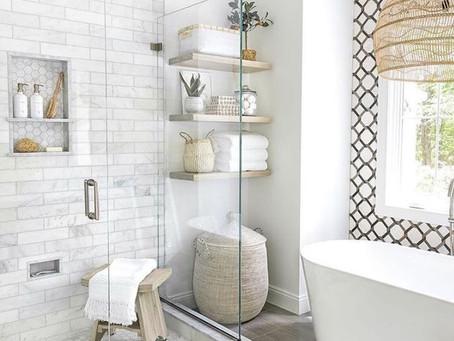 Bright & Airy Bathroom Design