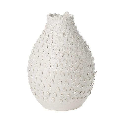 Feathered Vase, LARGE