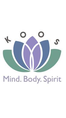 Koos holistic healing logo design