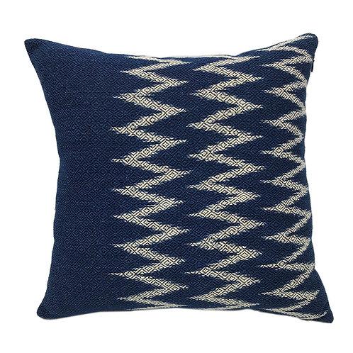 Indigo Chevron Pillow Cover