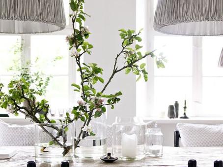 Non-Floral Dining Table Centerpieces