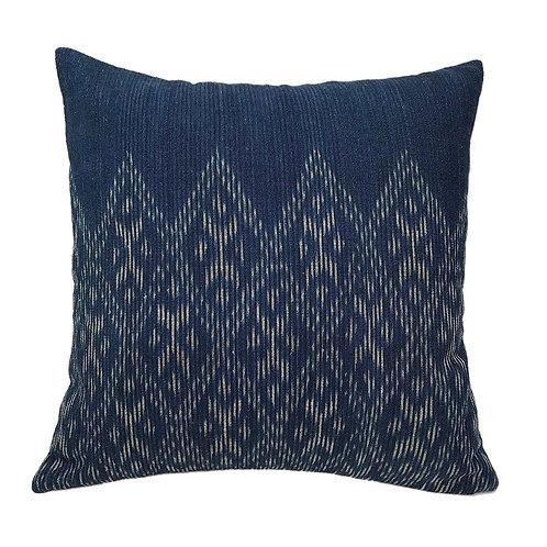 Indigo Diamond Pillow Cover