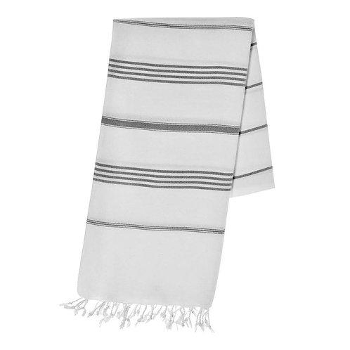 Classic Black Stripe Turkish Towel
