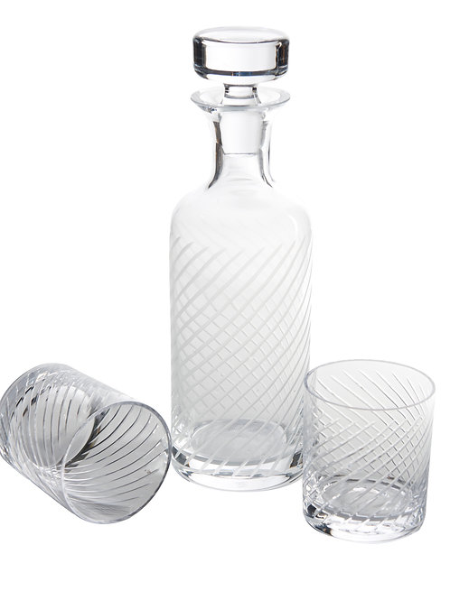 St. Regis Decanter, Diagonal Cut