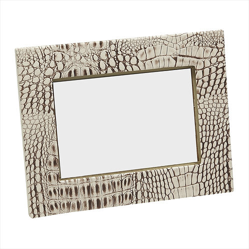 Crock Beige Photo Frame 5x7