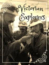 Victorian Explorers, street theatre, www.earthboundmisfits.co.uk