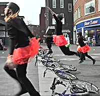 Earth Bound Misfits Bycycle ballet