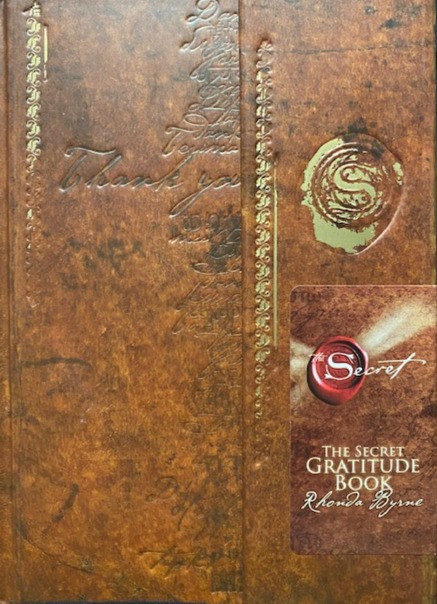 Write what you are grateful for in you The Secret Gratitude Book