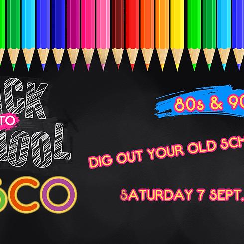 Back 2 School Disco