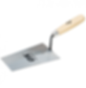 TRADE BUCKET TROWEL WOODEN HANDLE 7 180M