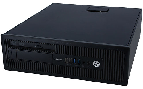 HP Desktop Computer Elitedesk 800 G1-SFF Intel Core i7 4th Gen 4770 (3.4