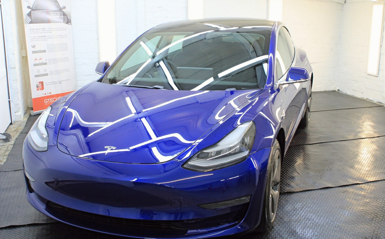 New Car Detail tesla Model 3