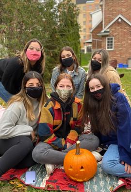 Pumpkin Carving Sisterhood Event 2020