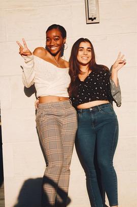 Marissa B. and Sabrina G.