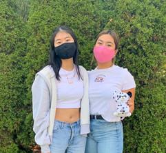 Emily K. and Keeyara A.