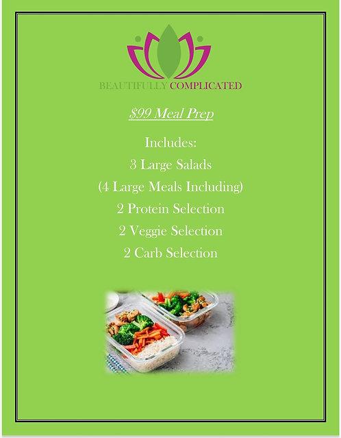 $99 Meal Prep