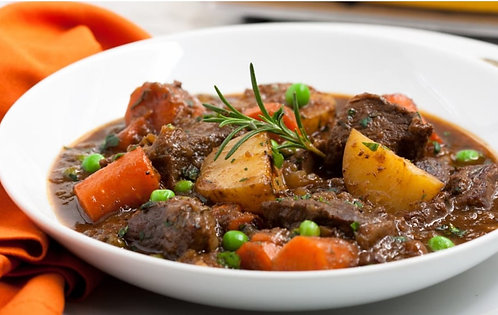 Beef Stew w/ Rice