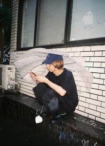 rainy in Shibuya