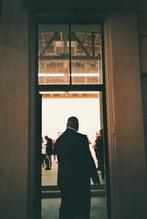 art gallery bouncer