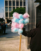 Western/Wilshire cotton candy man
