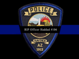 Donation for Officer Haddad EOW 3/12/16