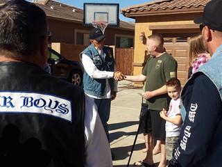 AZ Pinetop Officer Hummer Shot on Duty- Donation from Arizona Choir Boys LEMC