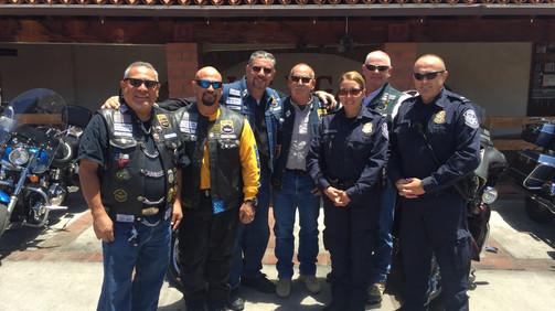 AZ Choir Boys travel to Donate for Fallen CBP Special Agent Garcia