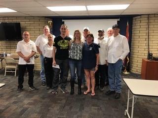 AZ Choir Boys LEMC Donations for Fallen DPS Officers Edenhofer & Dorris