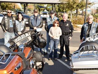 Arizona Choir Boys LEMC Donation for El Mirage Officer Paul Lazinsky EOW 12/12/17
