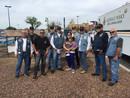 Glendale Sgt Livingston shot twice in the chest - AZ Choir Boys LEMC Donation
